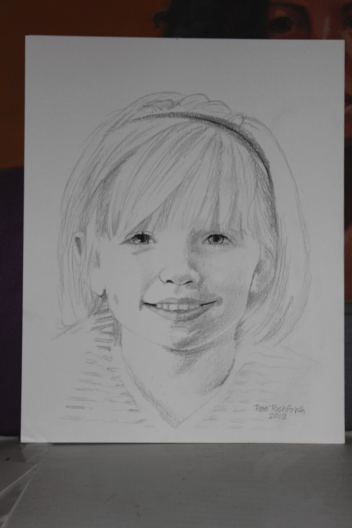 No matter how wiggly your children are there is a beautiful sketch to be made id love to do it you can contact me to find out where ill be located