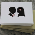 Wedding Couple with © watercolor embellishment