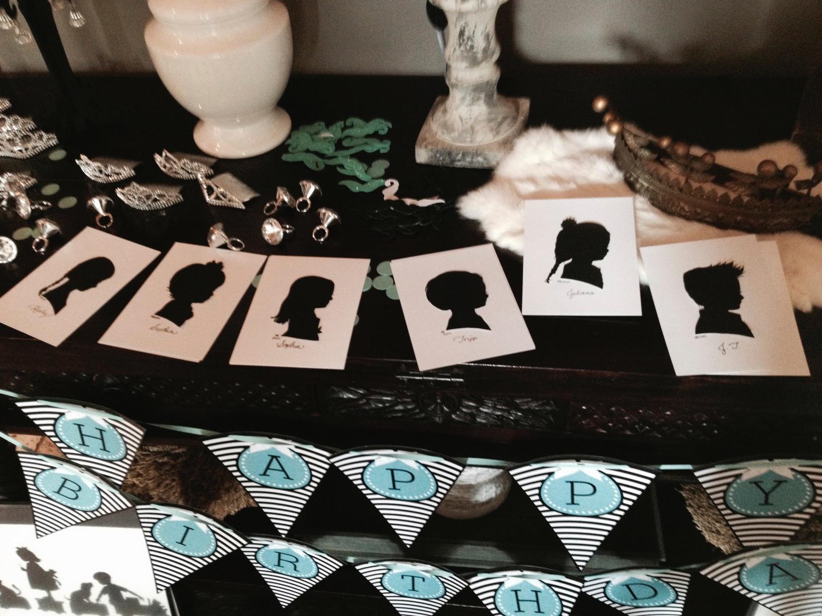 Silhouette Theme Birthday Party