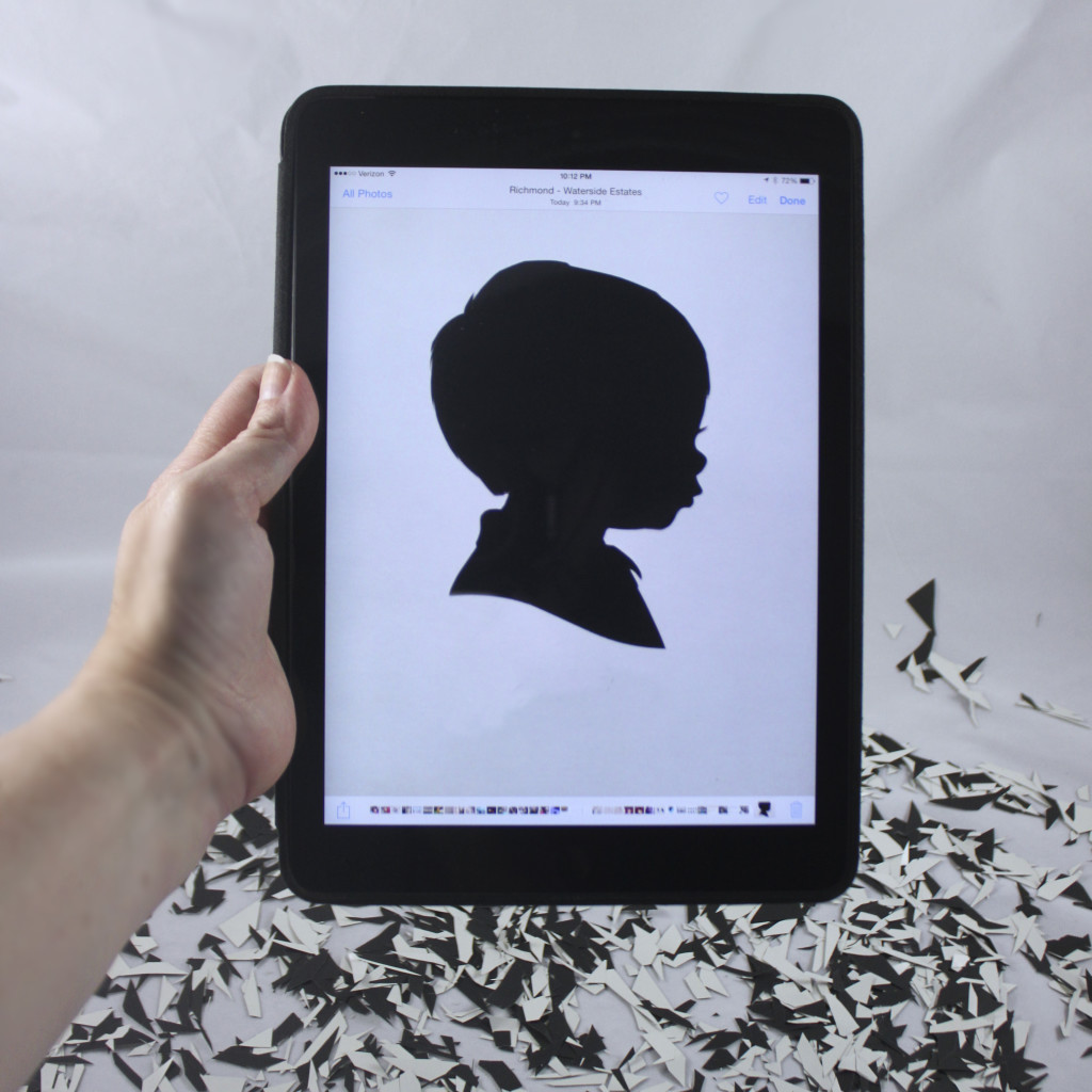 digital silhouette