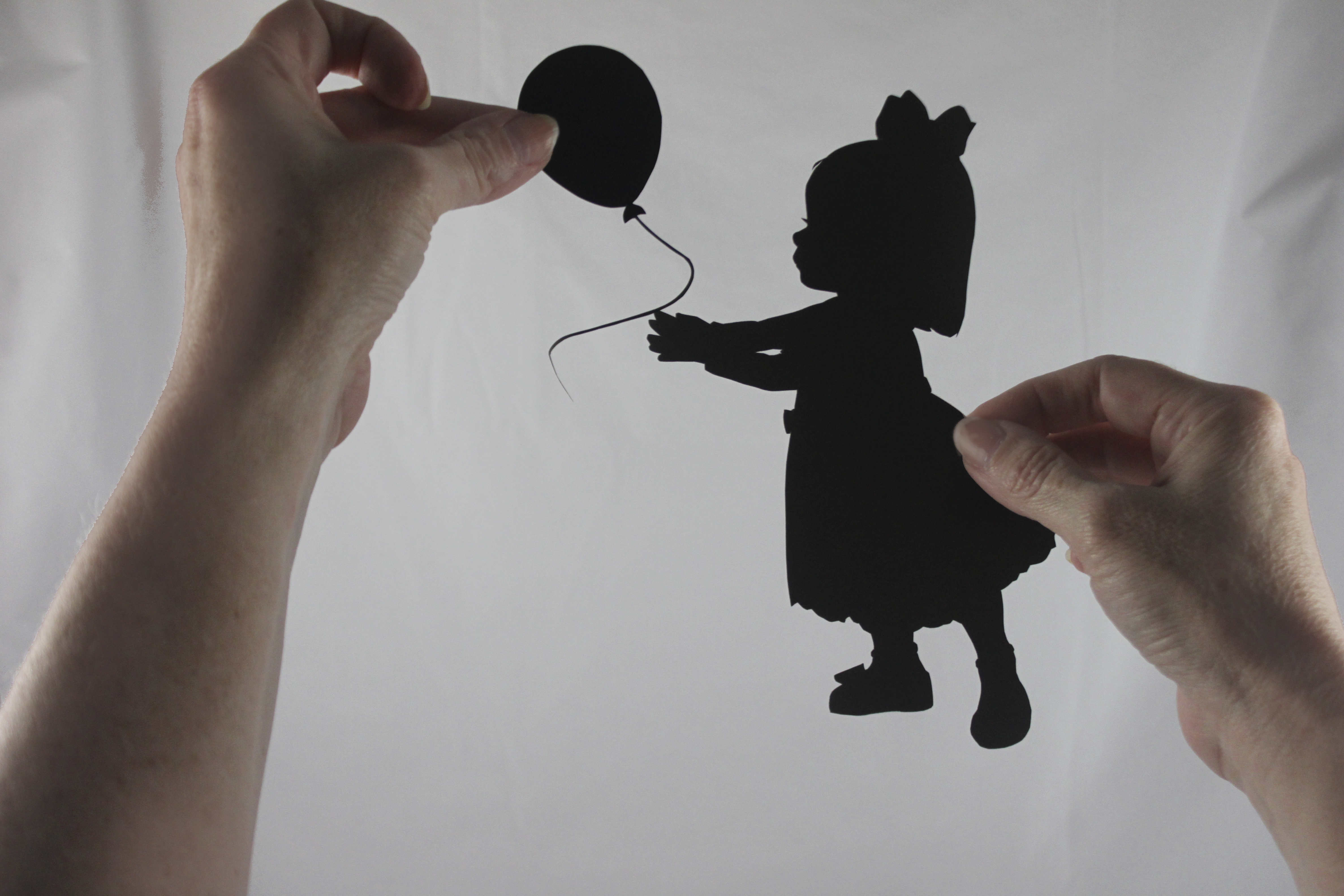 girl and balloon