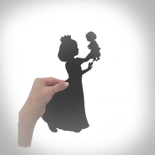 head to toe silhouette