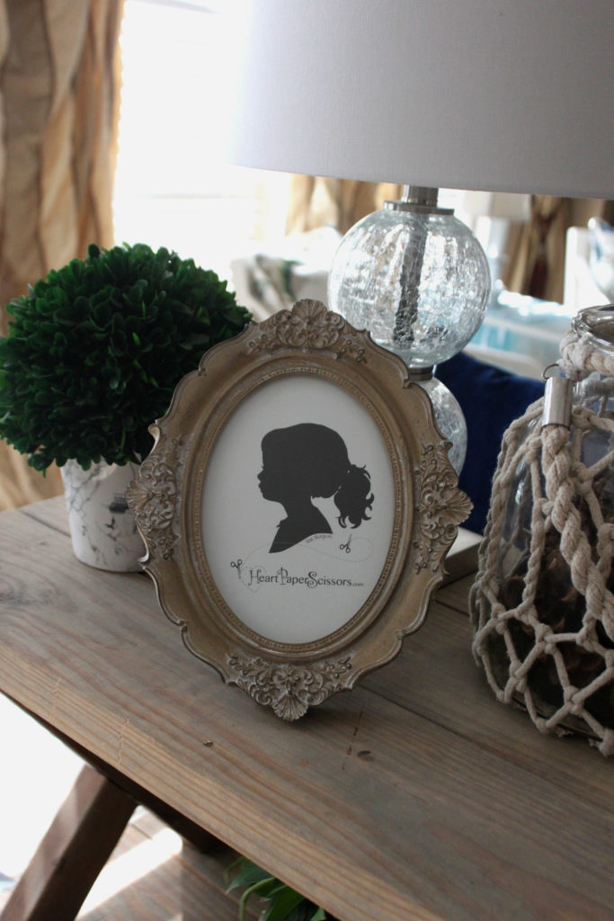 frame, oval, picture