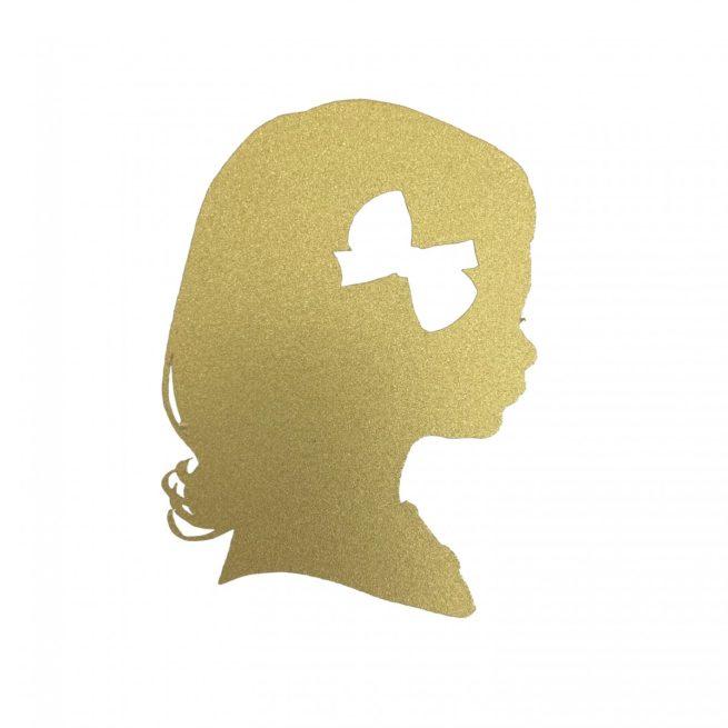 custom gold silhouette