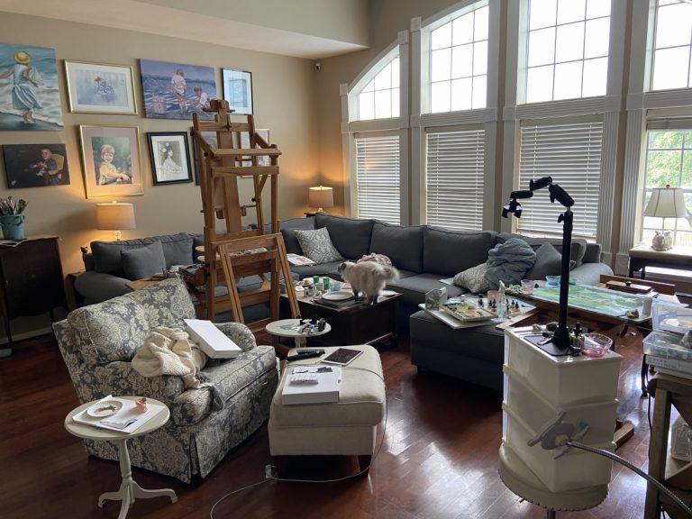 "A New Comfort Zone: Our Family ""Paint Café"""